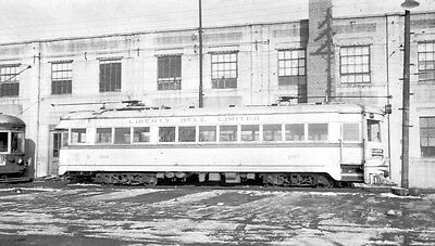 Negative - Lehigh Valley Transit Electric Interurban Car No. 1002