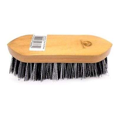Cottage Craft Mix-bristle Dandy Brush - Black, Small - Grooming Bristle Horse
