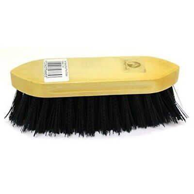 Cottage Craft Plain-bristle Dandy Brush - Blue, Small - Grooming Horse Navy