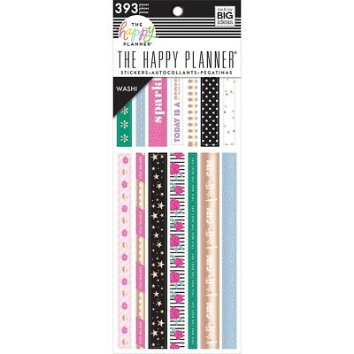 CLEAR FOILED Washi Tape Planner Stickers Galaxy Star Dangle EC Erin Condren FW4