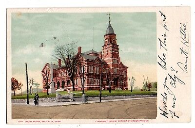 """Knoxville Tennessee 1906 """"court House""""--By The Detroit Photographic Co.~~~~"""