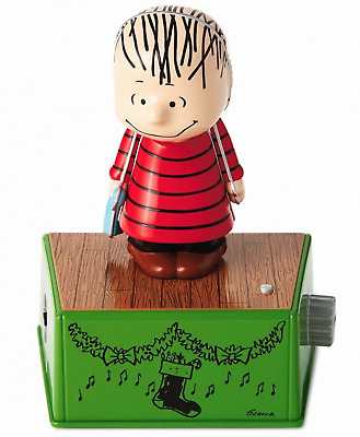 Hallmark 2017 LINUS DANCE PARTY WITH MUSIC & MOTION PEANUTS SERIES - NEW