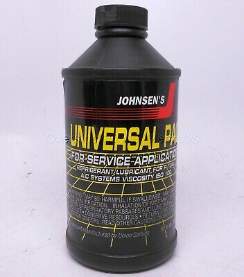 12oz Universal PAG 100 AC/Refrigerant Lubricant/Oil for R134A Johnsen's #6816