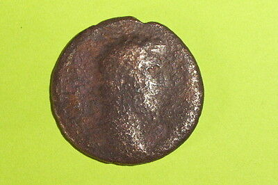 Aelius 136 AD-138 AD large ancient ROMAN COIN pannonia ae as old scarce G money