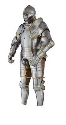 Perfect Replica Of Medieval Time Period Armor Suit Of King Henry Viii's