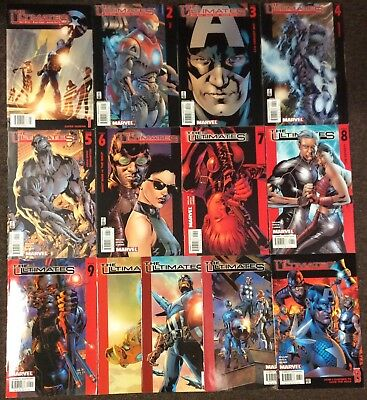 34 The Ultimates 1,2,3,4,5,6,7,8,9,10,11,12,13 2002  Millar (Series 1 2 3) Set