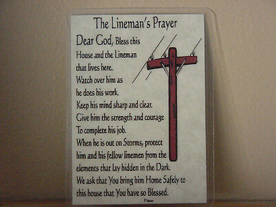 KLEIN TOOLS 1560- Linemans's Prayer, Lineman Gifts