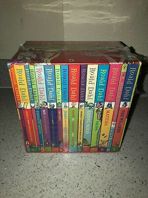 Roald Dahl Phizz-Whizzing Collection: 15 Book Box Set in Slipcover