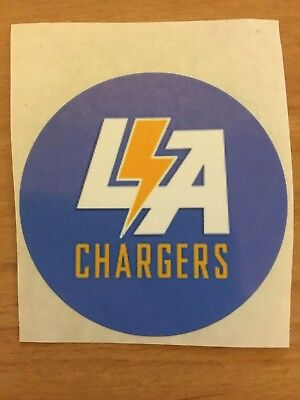 1 Los Angeles Chargers 2x2 Inch Sticker