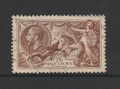 GB STAMPS RE-ENGRAVED KING GEORGE V 2/6d SEAHORSE FINE USED FROM COLLECTION