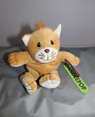 Enesco Tender Tails Cat Stuffed Animal 382256 With Tag