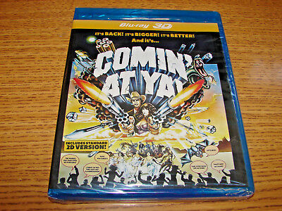 Comin' at Ya! 3-D (1981) (Blu-ray 2016 MVD) Tony Anthony, Ricardo Palacios, NEW!