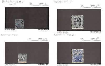Lot of 48 Barbados Assorted Used Stamps #134309