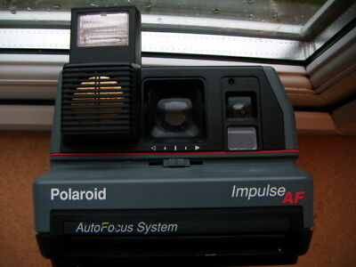 Polaroid Impulse AF takes 600 film - well used fully working film tested