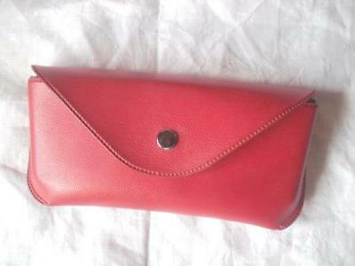 Vintage Red Spectacles Glasses Case by Boots