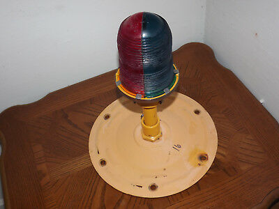 Man Cave Airport Runway Light Taxiway Multi Color Red Blue Globe Light
