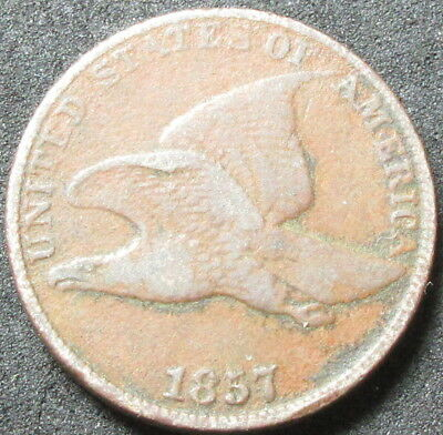 1857 Flying Eagle Cent Coin