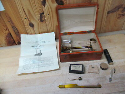 Vintage Specific Gravity Balance Scale 683 (Old No. 40)