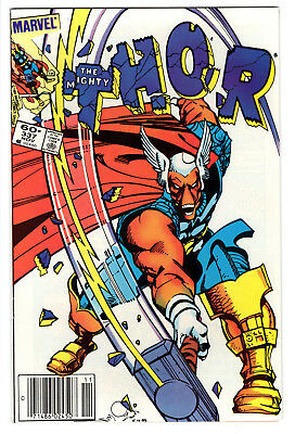 Thor #337 1St Beta Ray Bill 1983 Newsstand Fn 6.0 Walt Simonson