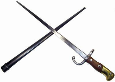 French M1874 Gras Sword Bayonet MLE WW1 Full Length Scabbard