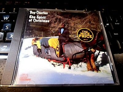 The Spirit Of Christmas by Ray Charles (CD 1990 Columbia) R&B Soul vocal