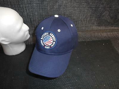 Old Vtg NATIONAL ARMORY SHOOT HUNT TRAIN Men's HAT Truckers Baseball Cap