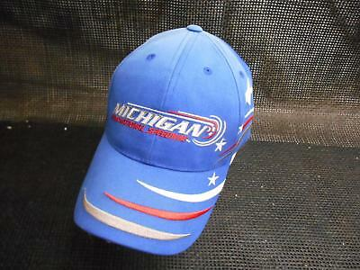 Old Vtg MICHIGAN INTERNATIONAL SPEEDWAY Men's HAT Truckers Cap Advertising
