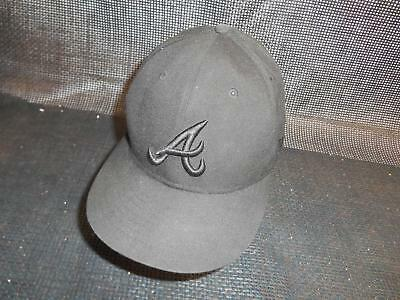 Old Vtg ATLANTA BRAVES  Men's HAT Baseball Cap MLB Advertising Souvenir