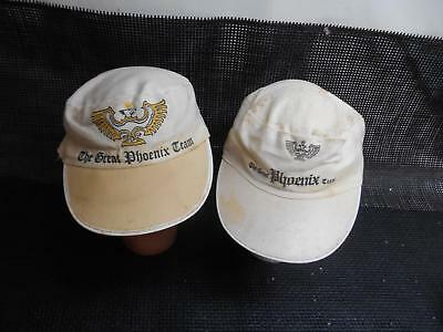 Old Vtg THE GREAT PHOENIX TEAM Men's HAT Painters Cap Advertising Set2