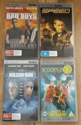 PSP UMD Movies* YOU CHOOSE ONE FROM THE TITLES LISTED*Speed*Hollow Man*Blade*