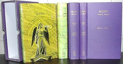 AGORA Francis Warner BOXED Hardback CLASSICAL Greece ATHENS Roman Plays SIGNED