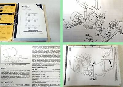 E-Z-Go Industrial 875E 875PE 875AE Mod. 1998 Owners Manual and Parts List