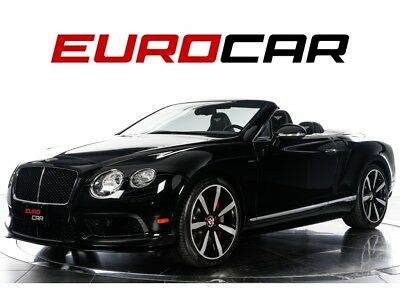 2015 Continental GT V8 S Convertible One Owner / California Vehicle! Mulliner Driving Specification ($8,780)