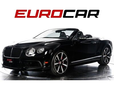 2015 Continental GT V8 S Convertible