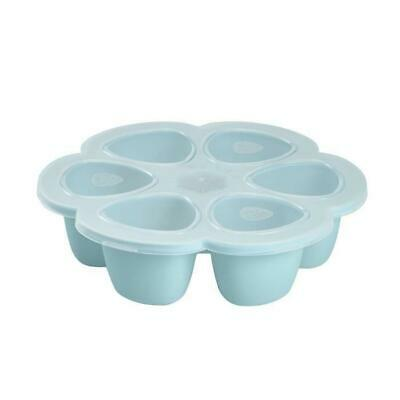 Multiportions silicone 6 x 90 ml blue
