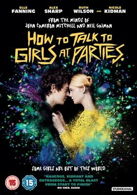 Neu How To Talk To Girls At Partys DVD