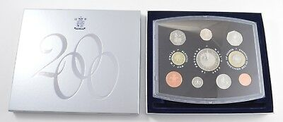 2000 United Kingdom 10 Coin Proof Collection - With CoA & Display Box *6799