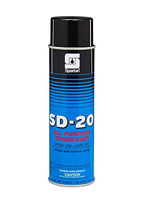 Spartan SD-20 - All Purpose Cleaner, Case