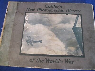 Collier's New Photographic History of the World War c.1919 128 pg