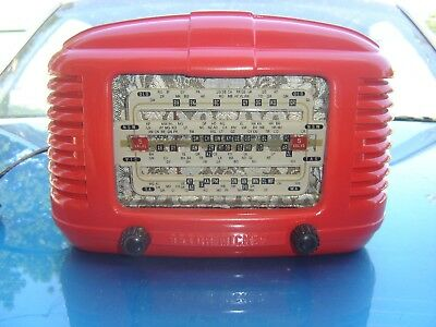 Vintage Astor Mickey  Valve Radio Model Hpm--- Working ---