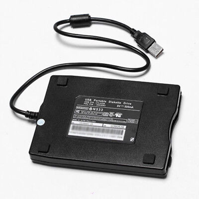 Floppy Disk Drive for Laptop Black Win ME/2000/XP Diskette PC Useful Durable