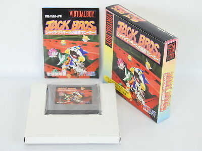 JACK BROS. Brothers ref/bcb Virtual Boy Nintnedo Japan Game vb