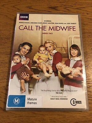 CALL THE MIDWIFE|Series 2|3 DVD SET|BBC|NEW/SEALED