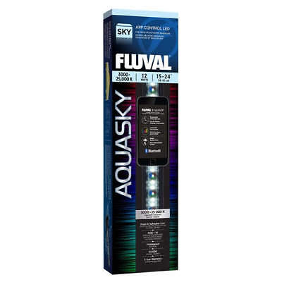 Fluval Aquasky LED with Bluetooth - 12 W / 15 in - 24 in