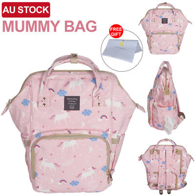 Multifunctional Baby Diaper Backpack Nappy Waterproof Luxury Mummy Changing Bag