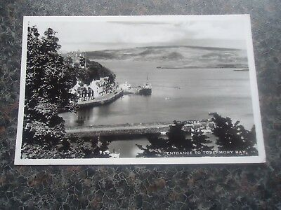 Postcard Entrance To Tobermory Bay 1960S