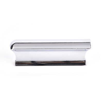 Metal Silver Guitar Slide Steel Stainless Tone Bar Hawaiian Slider For Guitar BD