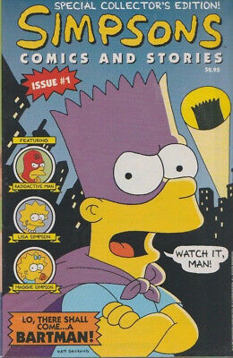 Simpsons Comics and Stories Issue #1  Jan 1993  Sealed w. Poster