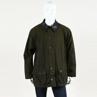 Barbour Suede Patch Men's Jacket SZ L