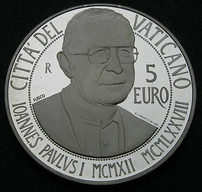 VATICAN 5 Euro 2012 R Proof - Silver - Birth of John Paul I. - 2754